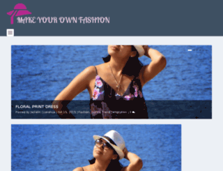 makeyourownfashion.com screenshot
