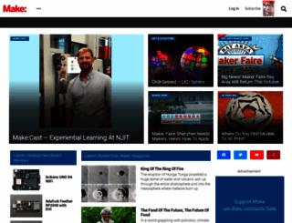 makezine.com screenshot
