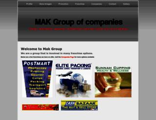 makgroup.co.za screenshot