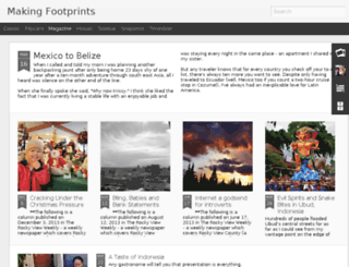 makingfootprintsfollowingfootsteps.blogspot.com screenshot