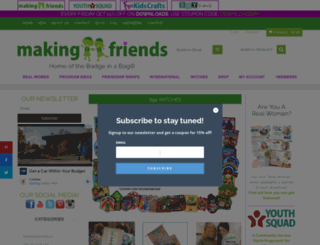 makingfriends.com screenshot