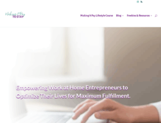 makingitpaytostay.com screenshot