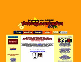 makinglearningfun.com screenshot