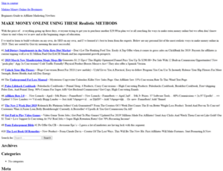 makingmoneyonlineforbeginners.net screenshot