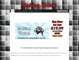 makingwavessoftware.com screenshot