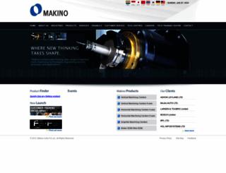 makinoindia.co.in screenshot