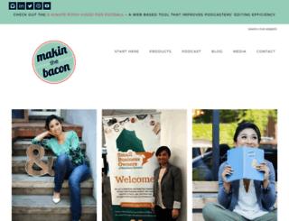 makinthebacon.com screenshot