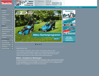 makita.de screenshot