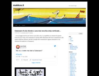makkox.it screenshot