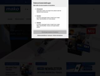 mako.de screenshot