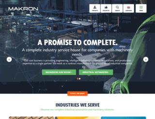 makron.com screenshot