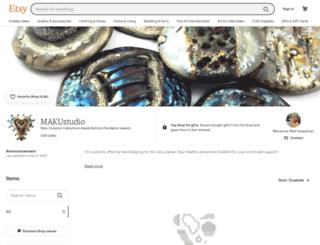 makustudio.etsy.com screenshot