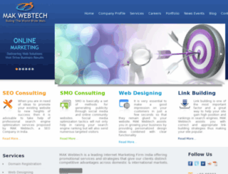 makwebtech.com screenshot