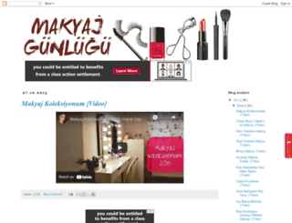 makyajgunlugu.blogspot.com.tr screenshot