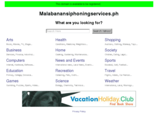 malabanansiphoningservices.ph screenshot