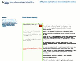 malaga.atspace.org screenshot