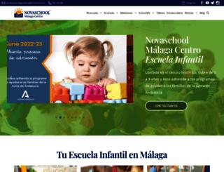 malagacentro.novaschool.es screenshot