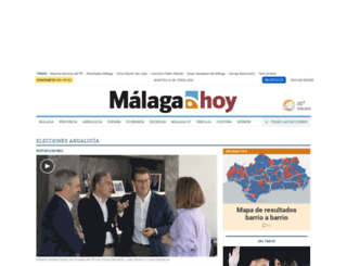 malagahoy.es screenshot