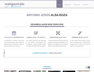 malagaonrails.com screenshot