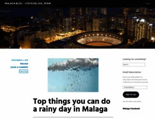 malagaweb.wordpress.com screenshot