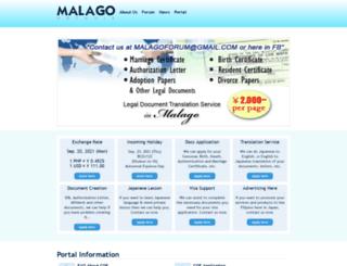 malago.net screenshot