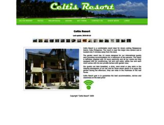malapascua-celtis-resort.com screenshot