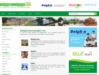 malappuramwebpages.com screenshot