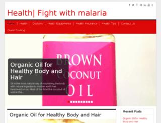 malariasolution.net screenshot