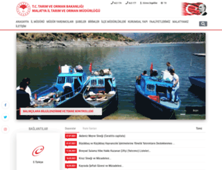 malatya.tarim.gov.tr screenshot