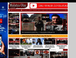 malatyaolay.com screenshot