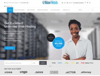 malawiwebsite.com screenshot