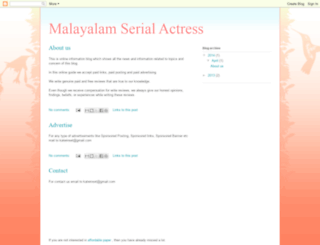 malayalam-serial-actress.blogspot.in screenshot