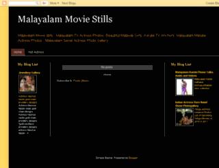 malayalam-stills.blogspot.com screenshot