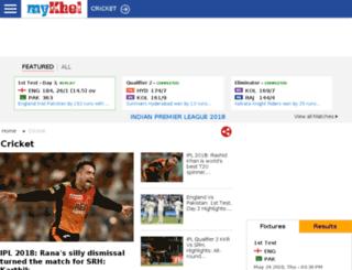 malayalam.thatscricket.com screenshot