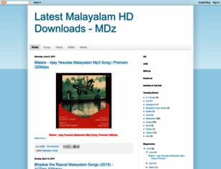 malayalamdownloadz.blogspot.in screenshot