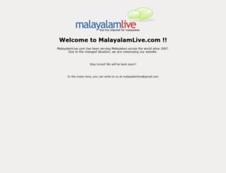 malayalamlive.com screenshot