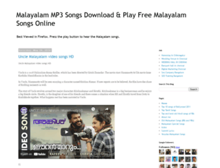 malayalamp3download.blogspot.in screenshot