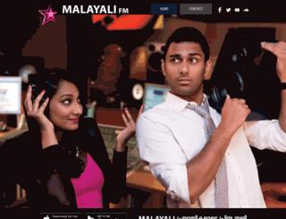malayalifm.com screenshot