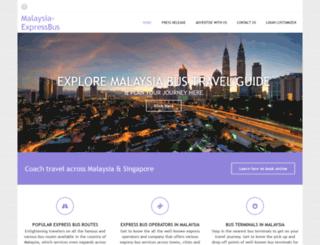 malaysia-expressbus.com screenshot