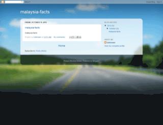 malaysia-facts.blogspot.com screenshot