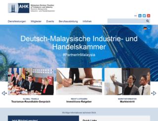 malaysia.ahk.de screenshot