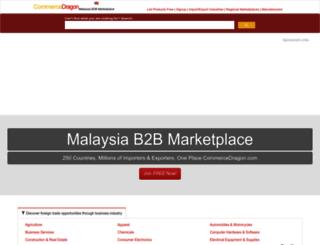 malaysia.commercedragon.com screenshot
