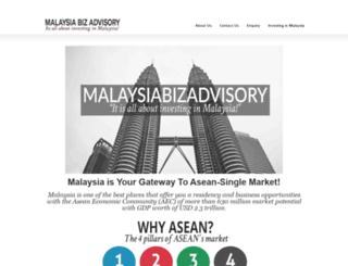malaysiabizadvisory.com screenshot
