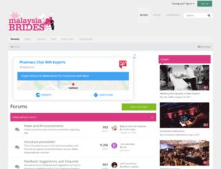 malaysiabrides.com screenshot