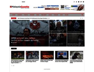 malaysiagazette.com screenshot