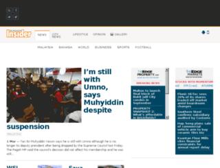 malaysiainsider.com screenshot