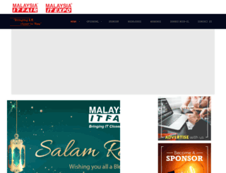 malaysiaitfair.com.my screenshot