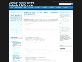 malaysiajobsvacancy.blogspot.com screenshot