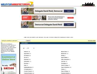 malaysiamanufacturers.com screenshot