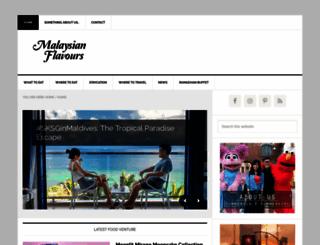 malaysianflavours.com screenshot